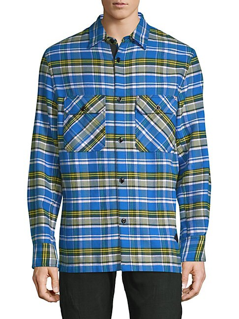 Hudson Plaid Cotton Jacket
