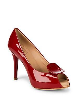 Patent Leather Stiletto Heels