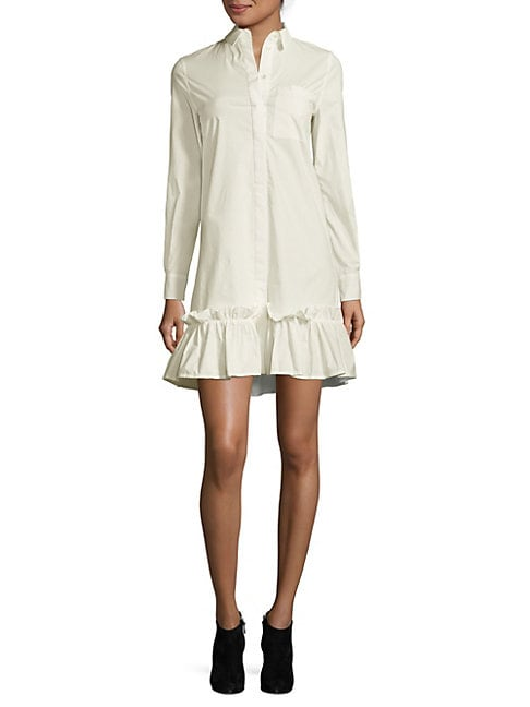 Ruffled Shirtdress