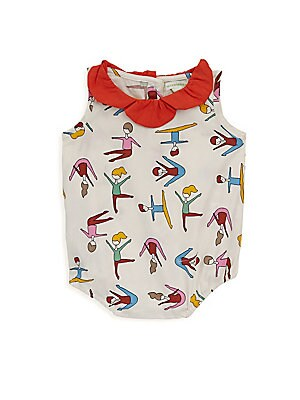 Baby Girls Printed Cotton Top