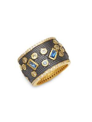 Freida Rothman  Modern Mosaic Cubic Zirconia Ring