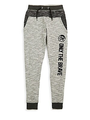 Diesel BOY'S ONLY THE BRAVE TRACKSUIT PANTS