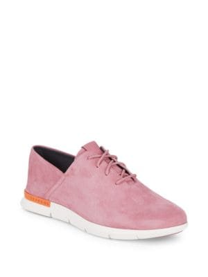 Grand Horizon Lace-Up Sneakers, Pink