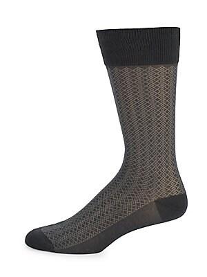 Mini Diamond Mid-Calf Socks
