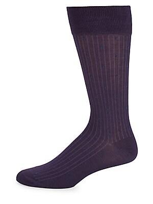 Pinstripe Polka-Dot Socks
