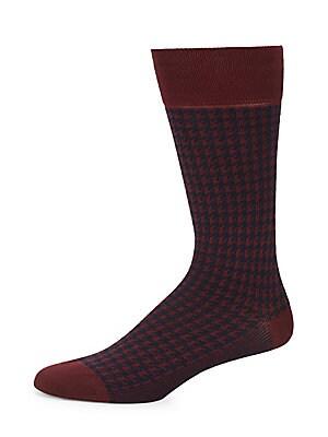 Geometric Dress Socks
