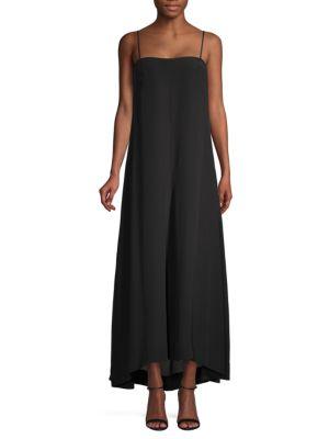 Theory  Drewie High-Low Maxi Dress
