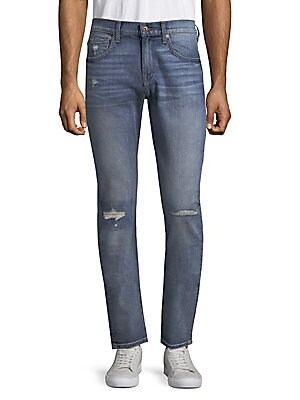 Paxtyn Clean-Pocket Jeans