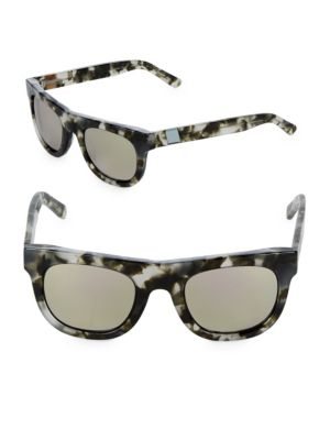 Westward Leaning  Pharoah 49MM Pepper Square Sunglasses