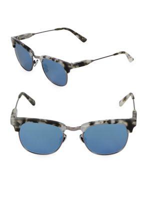 Westward Leaning Tortoise Vangaurd 49MM Sunglasses