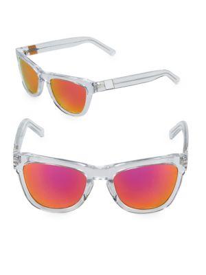 Westward Leaning Pioneer 53MM Transparent Sunglasses