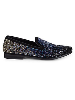 P-Deploy Embellished Loafers