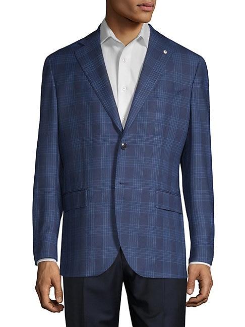 Glen Check Wool Sportcoat