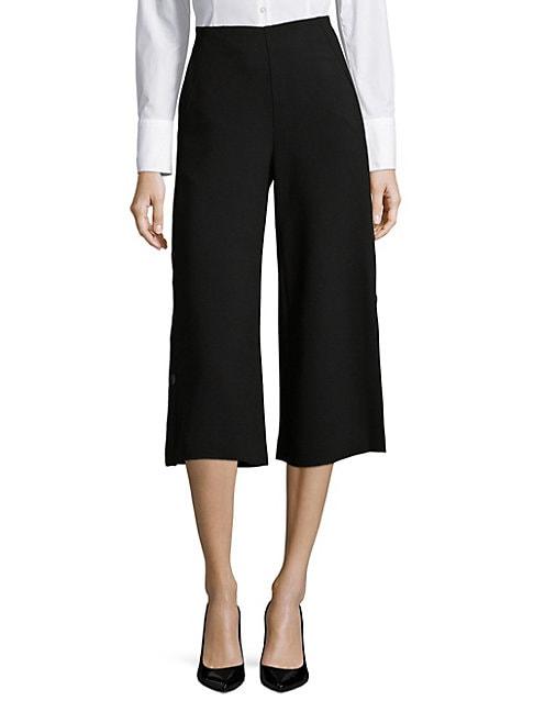 COSETTE | Wide-Leg Crop Pants | Goxip