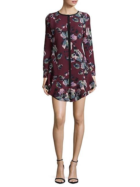 Cosette FLORAL-PRINT SHIFT DRESS