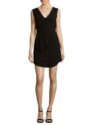 Cosette Uma V-Neck Button-Down Dress