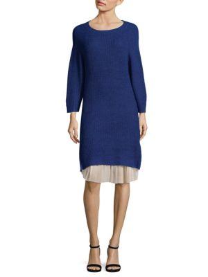 Cosette Rib-Knit Long Sweater