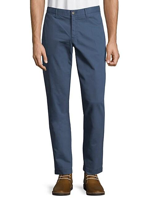 Cotton Slim-Fit Pants