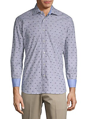 Cotton Sneaker Print Shirt