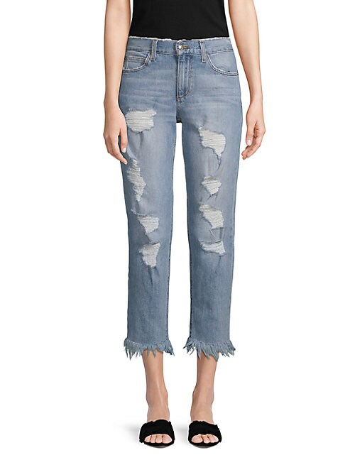 The Smith Ripped Ankle Jeans