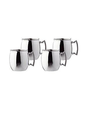 Steelii Stainless Steel Moscow Mule Mugs/ Set Of 4
