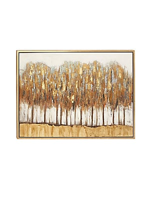 LANDSCAPE AND NATURE NATURAL FRAMED FOREST CANVAS ART