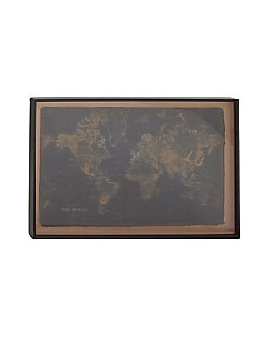 MAPS TRADITIONAL WOODEN WALL WORLD MAP