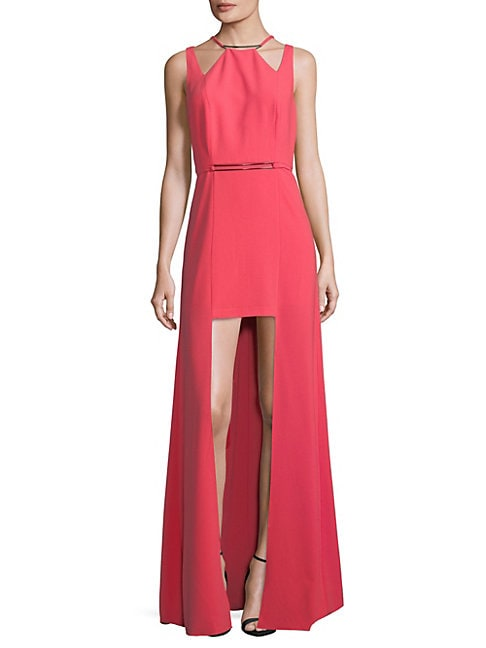 Cutout High-Low Dress