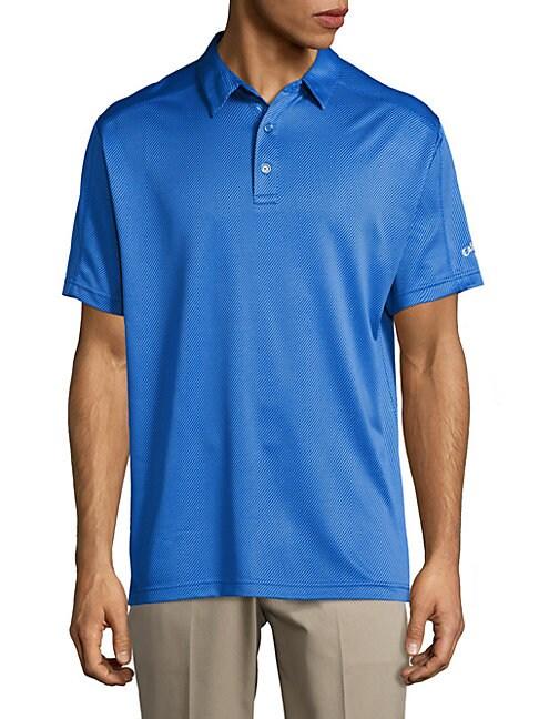 Golf Performance Jacquard Polo