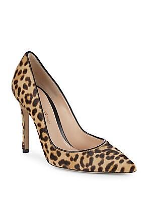 Leopard Print Stiletto Pumps