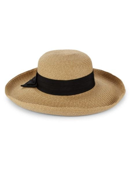 Raffia Ribboned Sun Hat by San Diego Hat Company