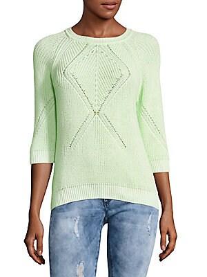Hi-Lo Cotton Sweater