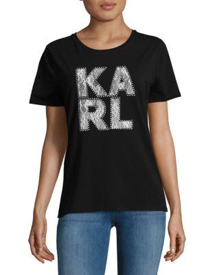 Karl Lagerfeld  Karl Lace Tee