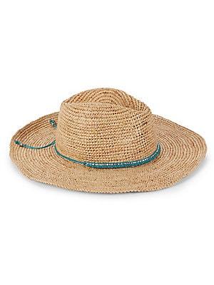 225le by alessandra female cody crochet raffia hat