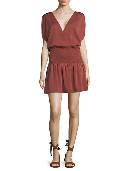 COSETTE | Gabrielle Pleated Dress | Goxip