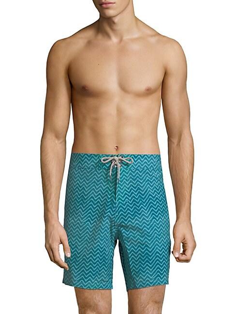 7 Zigzag Board Shorts