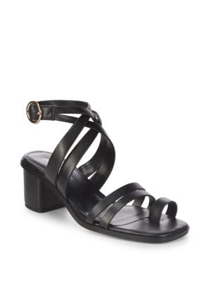 f55c80b00 Bcbgeneration Erica Ankle-Strap Sandals In Black
