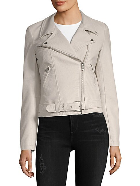 DRIFTWOOD | Embroidered Moto Jacket | Goxip