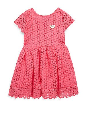 Little Girl's Lace Fit-&-Flare Dress