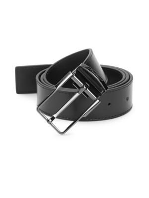 Versace Slim Leather Belt