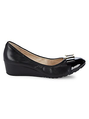 3fb7c50c8a Cole Haan - Emory Bow Wedge Shoes - saksoff5th.com