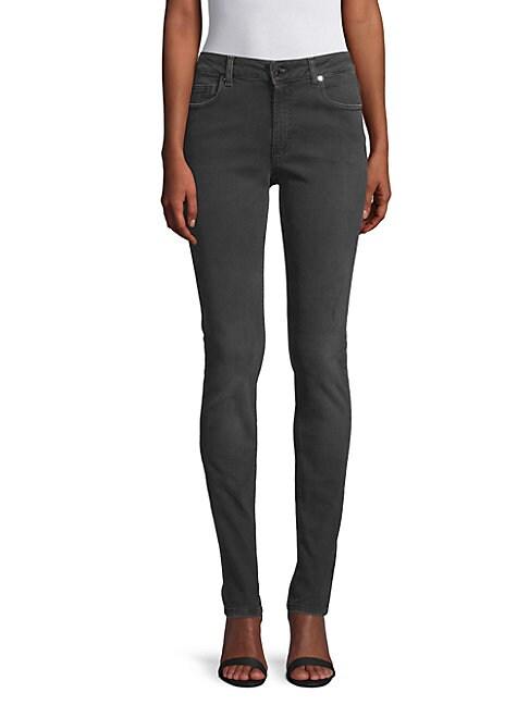 Dark Semi-Distressed Jeans