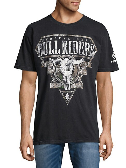 AFFLICTION | Graphic Cotton Tee | Goxip