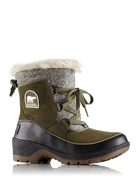 Tivoli Faux Fur Suede Winter Boots
