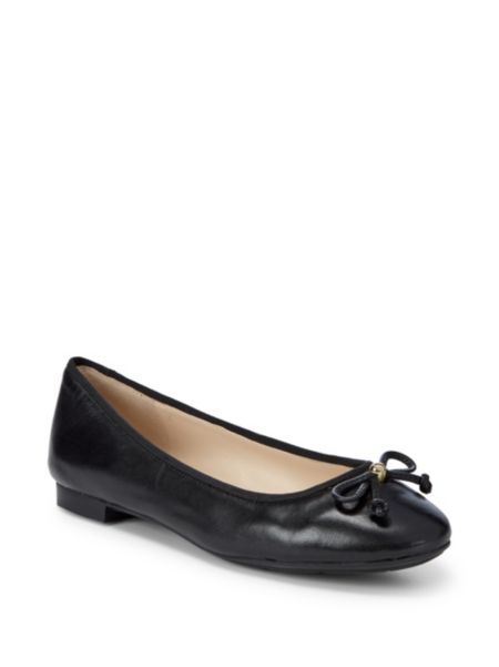 Megan Leather Ballet Flats by Cole Haan