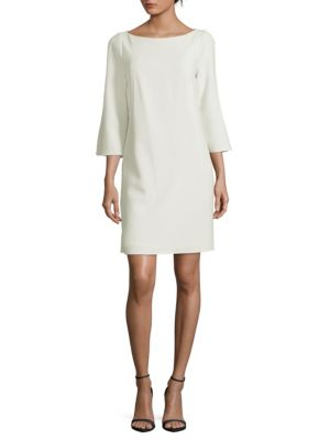 Lafayette 148  MARI THREE-QUARTER SHIFT DRESS