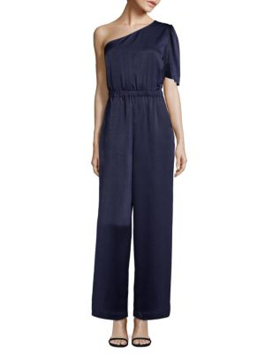 PLENTY BY TRACY REESE One-Shoulder Jumpsuit in Twilight