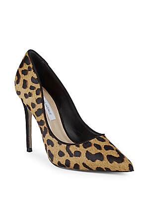 Leopard Leather Pumps