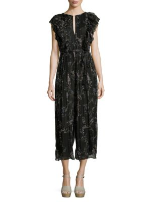 fb7272a91a7c Zimmermann Paradiso Floating Silk Jumpsuit In Black Multi