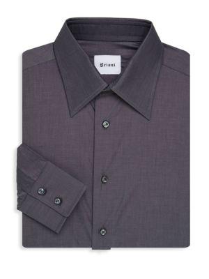 Brioni  Button-Front Dress Shirt